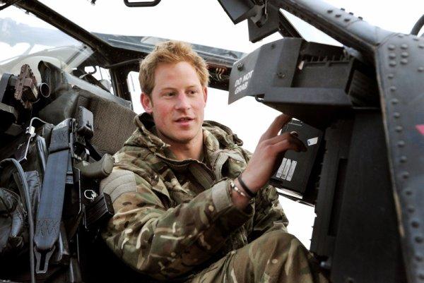 Le prince Harry a sauvé un soldat victime d'homophobie