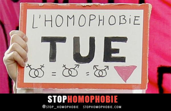 Injures homophobe  merci   de lache  vo com sur se rasiste  envert les gay