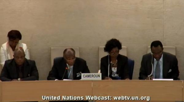 ONU : Militant gay massacré: le Cameroun rejette la faute sur la victime