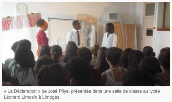 L'Homosexualité et des émeutes au Togo au programme des lycéens