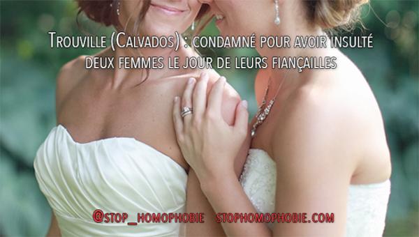 Trouville (Calvados) : condamné pour avoir insulté deux femmes le jour de leurs fiançailles