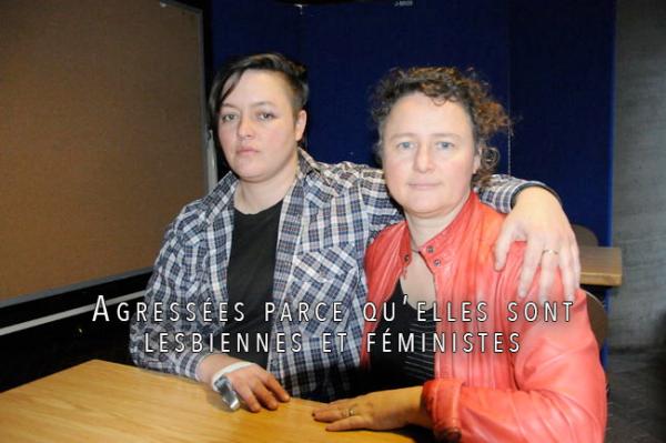 #Homophobie : #Agressées parce qu'elles sont #lesbiennes et #féministes