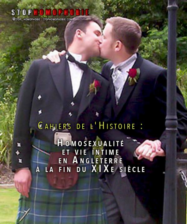 Cahiers de l'Histoire : #Homosexualité et vie intime en #Angleterre à la fin du XIXe siècle