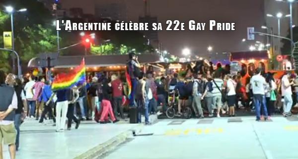 L'Argentine célèbre sa 22e Gay Pride