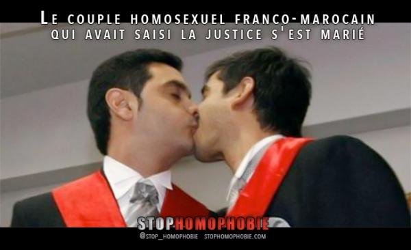 Savoie : Mariage du couple homosexuel franco-marocain qui avait saisi la justice