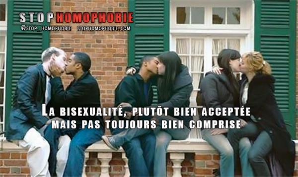 Près de 15% des gens déclarent que la bisexualité est « une orientation non légitime »