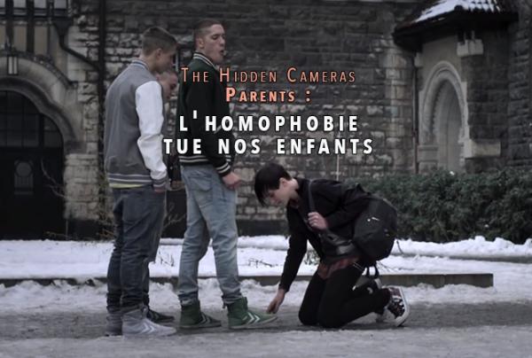 Vidéo – Gay Goth Scene de The Hidden Cameras : Parents, l'homophobie tue nos enfants !