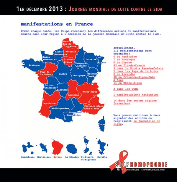 1er décembre 2013 – #Journée #mondiale de #lutte contre le #sida consacrée au thème : « Objectif : zéro »
