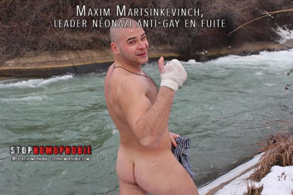 Maxim Martsinkevinch, leader de la milice russe adepte du tabassage et de l'humiliation de jeunes homosexuels en fuite