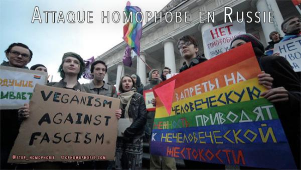 Attaque homophobe en Russie : la triste manifestation de l'atmosphère qui règne dans le pays aujourd'hui