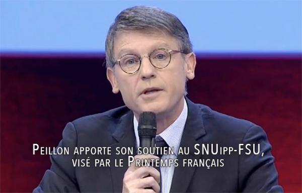 Printemps français : Peillon apporte son soutien à un syndicat de l'éducation visé par le mouvement