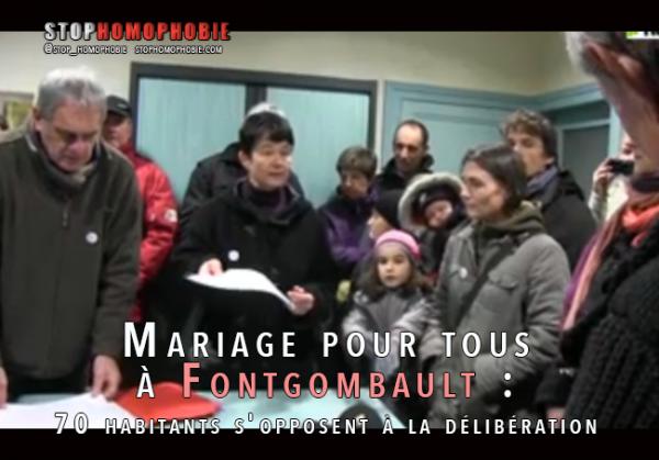 Quand le Collectif des #indignés de #Fontgombault monte en puissance