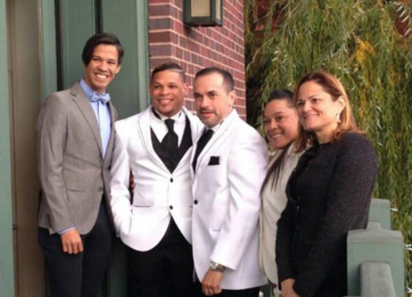 #MariagePourTous dans le monde de la #boxe : Quand Orlando #Cruz épouse son compagnon de longue date, José Manuel Colón