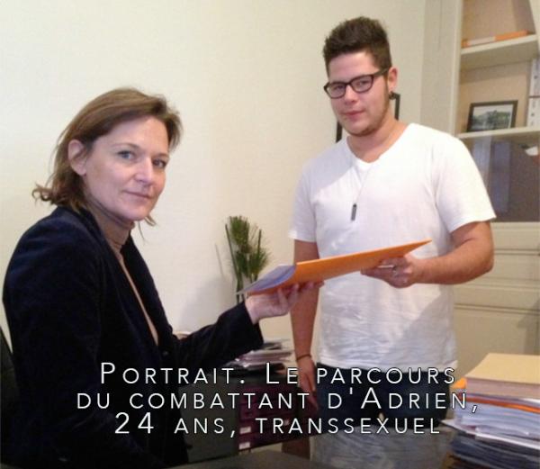 #Rouen – #Portrait. Le parcours du combattant d'Adrien, 24 ans, #transsexuel