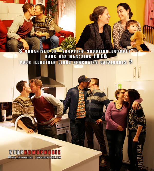 New York : Quand des #couples #homos s'organisent une « descente » amoureuse dans un magasin #IKEA pour dénoncer la « lâcheté » de la marque en Russie