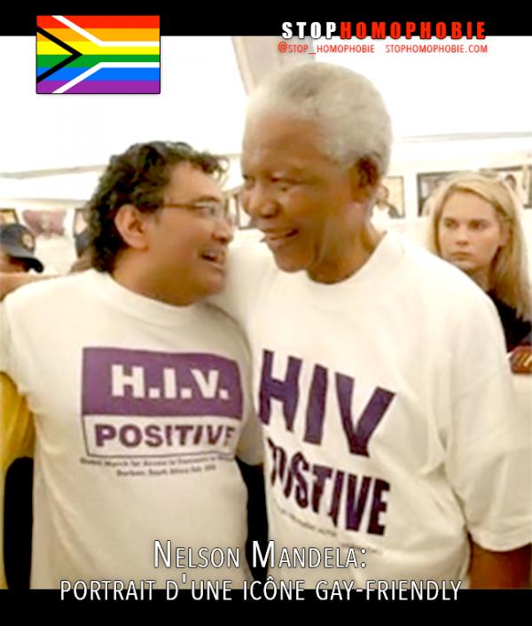 Nelson Mandela: portrait d'une icône gay-friendly