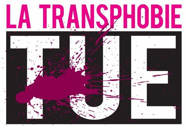 Lutte contre la transphobie et la discrimination de l'identité de genre et liée au sexe.