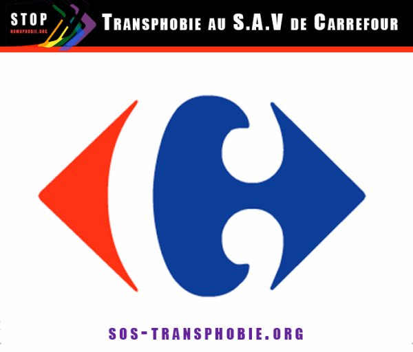 Témoignage : Transphobie au S.A.V de Carrefour