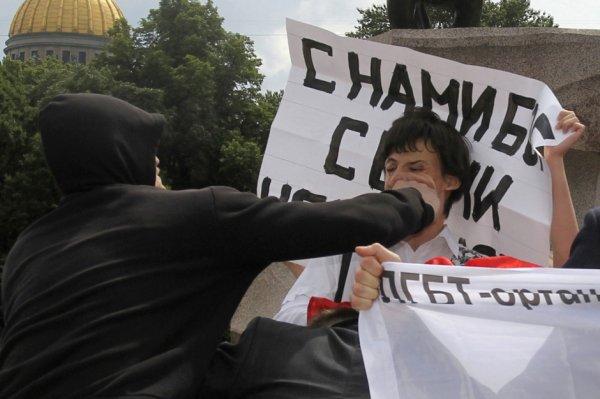 En Russie, le poison de l'homophobie
