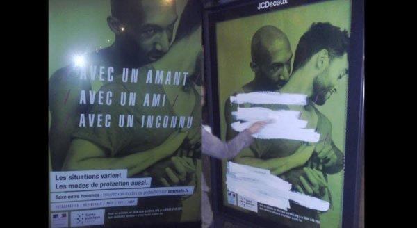 Affiches de prévention du sida censurées: la justice est saisie