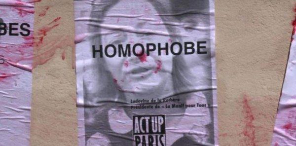 La présidente de la Manif pour tous, Ludovine de la Rochère, perd son procès en diffamation contre Act Up