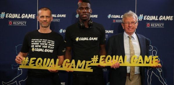 EqualGame » : L'UEFA lance sa campagne pour promouvoir l'inclusion, la diversité et l'accessibilité dans le football