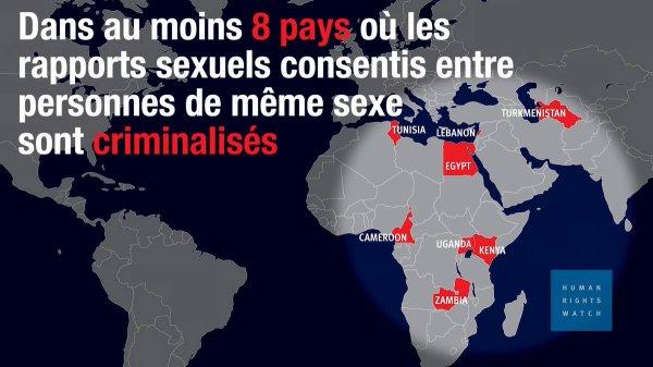 Homophobie d'État : la Tunisie promet d'arrêter les examens anaux forcés