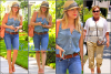 SublimHilary.skyrock.com---------   14 Juin,  - Hilary & sa Maman se rendant chez des amis dans Hollywood.