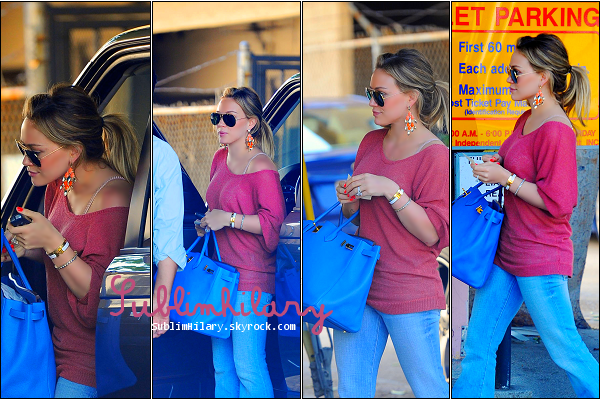 SublimHilary.skyrock.com---------   17 Juin,  - Hilary a été apperçue dans un Parking dans West Hollywood.
