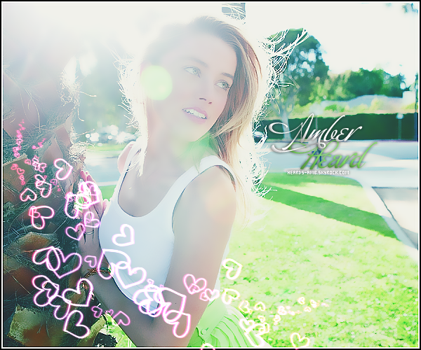 *  Bienvenue sur Heards-Amb, Ta source sur la ravissante Amber Laura Heard ! *