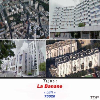 La banane 20e arrondissement