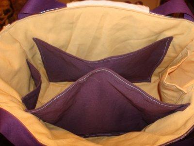 intérieur des sac a langer