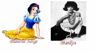 Quelques comparaisons avec les princesses Disney