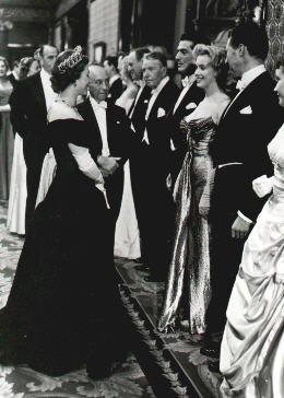 Marilyn en 1956, à Londres