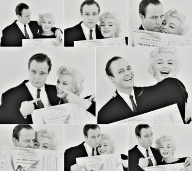 Photos : Marilyn entourée de célébrités
