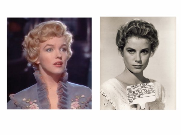 Marilyn et Grace Kelly