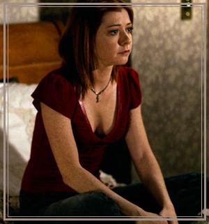 """""""Je suis Willow. Je suis la mort incarnée. Si tu oses me défier, j'en appellerait à ma fureur et à ma terrible soif de vengeance. En comparaison, la mort te semblera douce. Ok."""""""