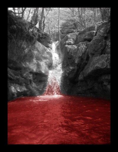 Fontaine de sang