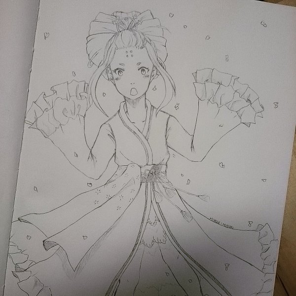 Senbonzakura girl