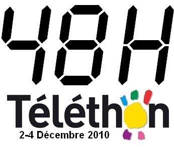 3 et 4  décembre : téléthon