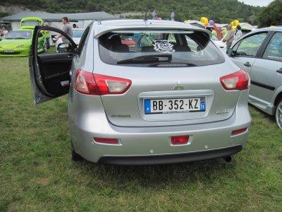 nouvelle voiture du club