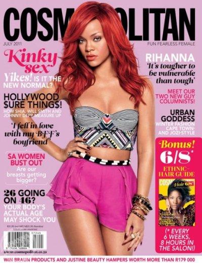 Le 31 mai 2011  Rihanna a fait la coubverture de ces magasines !!