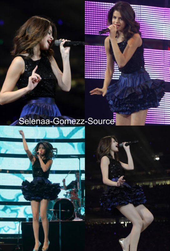 Selena Gomez & The Scene à Houston au Texas