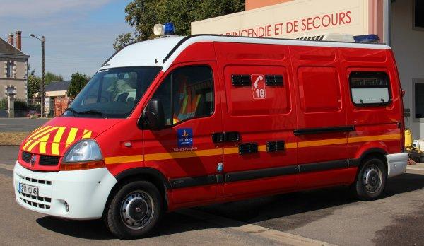 Sdis 45 - 2015: Cpi Beaulieu sur Loire.