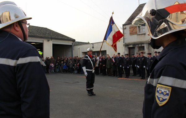 Sdis 45 - 2015: Sainte Barbe Cs Beaugency.
