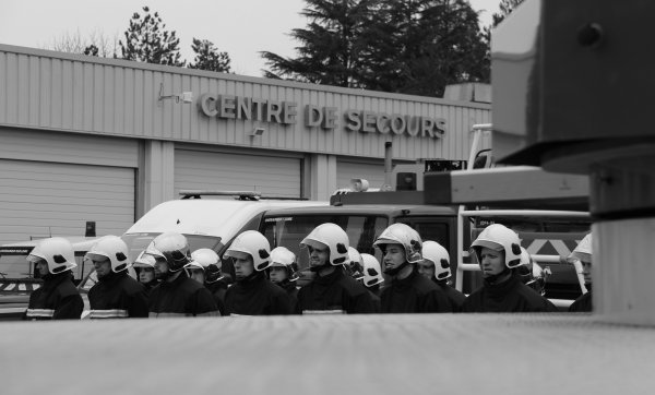 Sdis 45 - 2015: Sainte Barbe Cs Châteauneuf sur Loire.