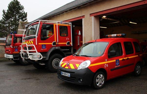 Sdis 45 - 2015: Sainte Barbe Cs Artenay.