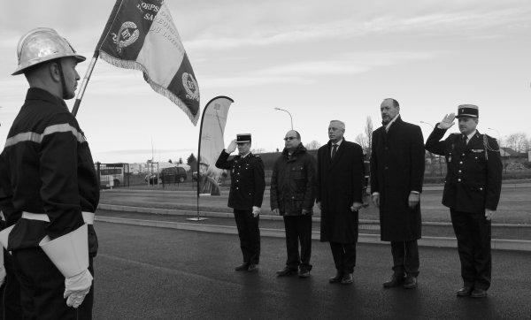 Sdis 45 - 2016: Inauguration Cs de Sermaises.