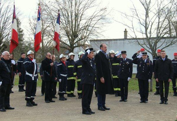 Sdis 45 - 2016: Dernière Ste Barbe Cpi Boigny sur Bionne.