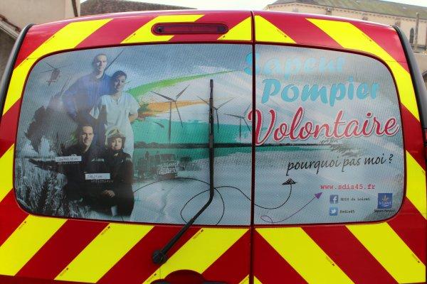 Sdis 45 - 2016: Campagne de promotion du Volontariat.